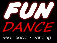 Fun Dance Logo Tall Black Solid