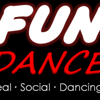 Fun Dance Logo Tall Black Solid7