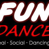 Fun Dance Logo Tall Black Solid8