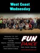 West Coas Wednesday Dance Class October 2012