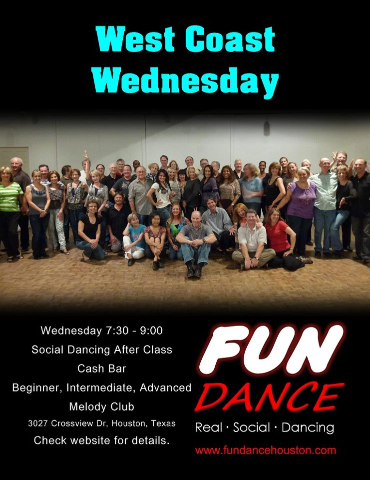 West coast dance classes adults